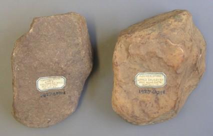 Two hammerstones