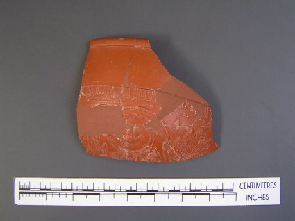 Samian bowl fragments stamped PATERNFE
