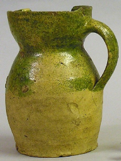 Rounded drinking jug