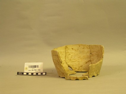 Rounded jug fragment