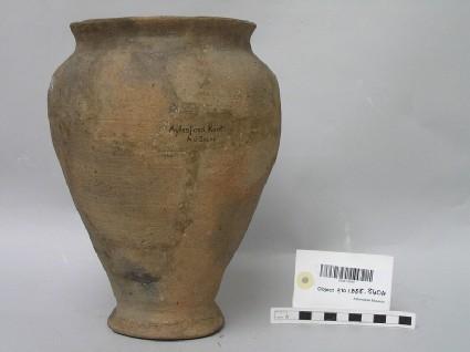 Restored pedestal jar
