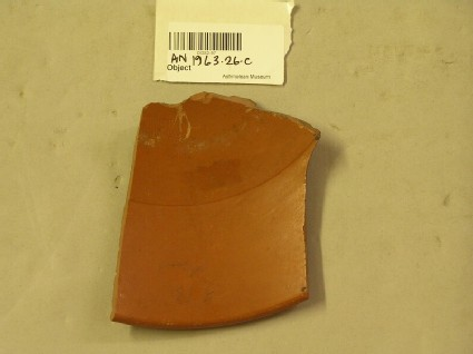 Bowl sherd with roulette design