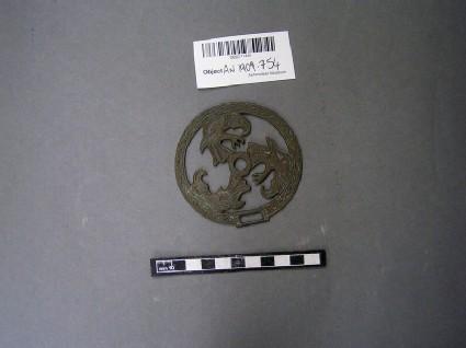 Openwork disc