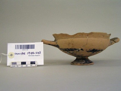 Kylix with decorated with painted zones