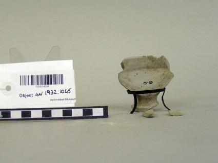 Fragment of pedstal bowl