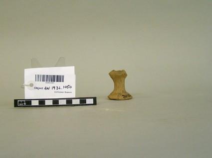 Fragment of base of vessel