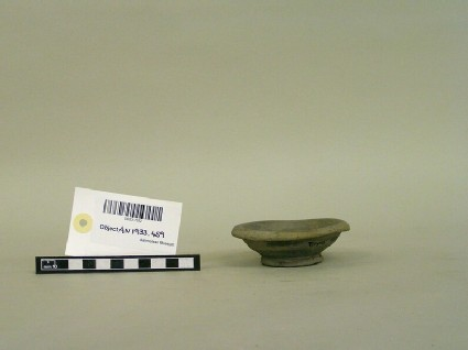 Grey Polished saucer