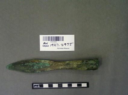 Javelin or spear-head