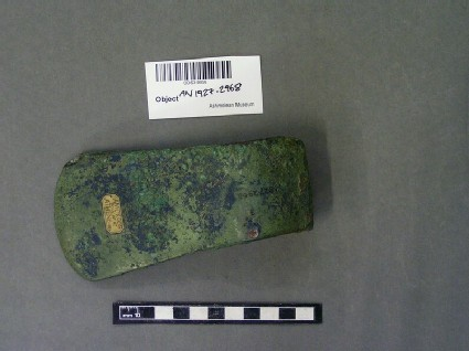 Copper alloy axe head