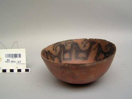 Bowl with goat frieze motif
