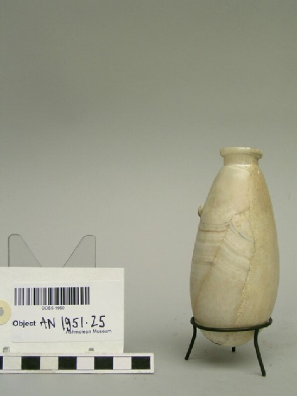 Round-bottomed vase with a single handle