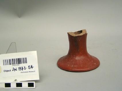 Base fragment of pedestal vessel
