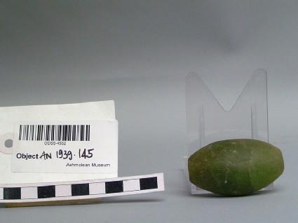 Green stone bead