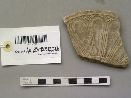Alabastron lid fragment