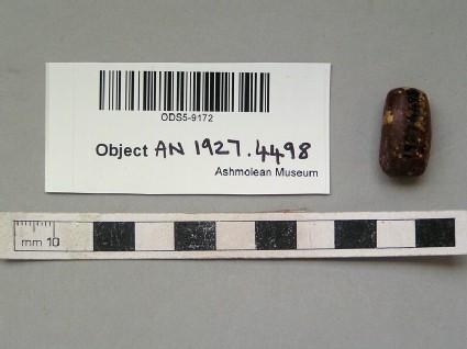 Small amber bead