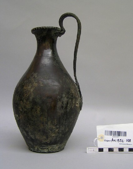 Large bronze wine-jug