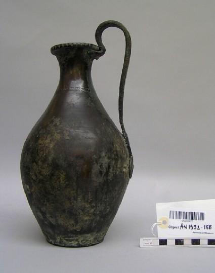 Large bronze wine-jug