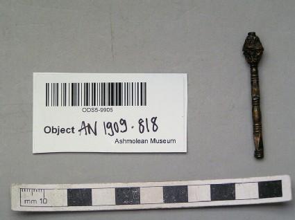 Gilded silver sceptre