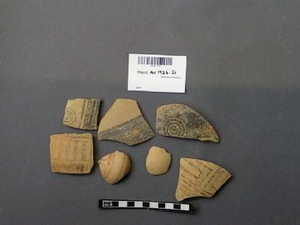 Aryballoi fragments