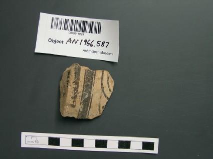Mycenaean vase sherd