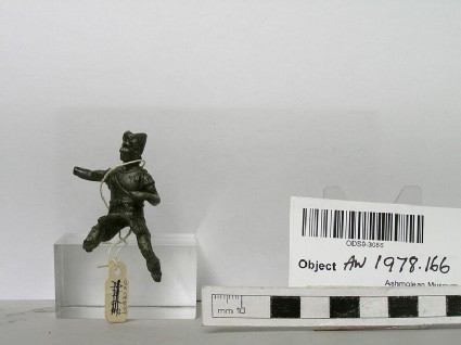 Statuette of horseman with cap