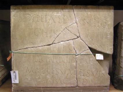 Funerary Latin inscription for Dellia Antiochis
