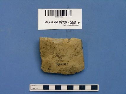 Axe fragment