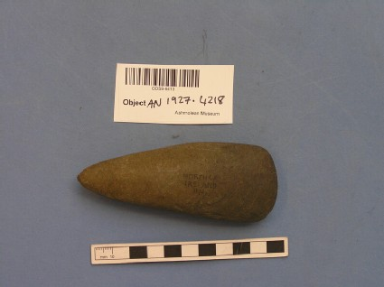 Polished stone axe