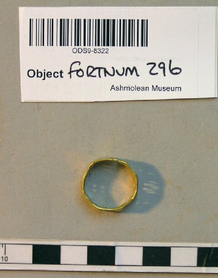 Finger-ring with Greek inscription
