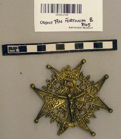 Badge of the Monastery of Notre Dame de Liesse
