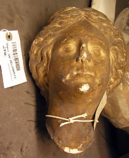 Statue head of Aphrodite