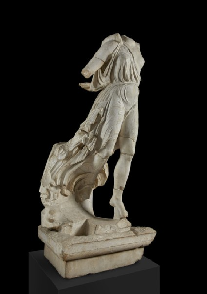 Cast of the Nike of Paionios, from Olympia