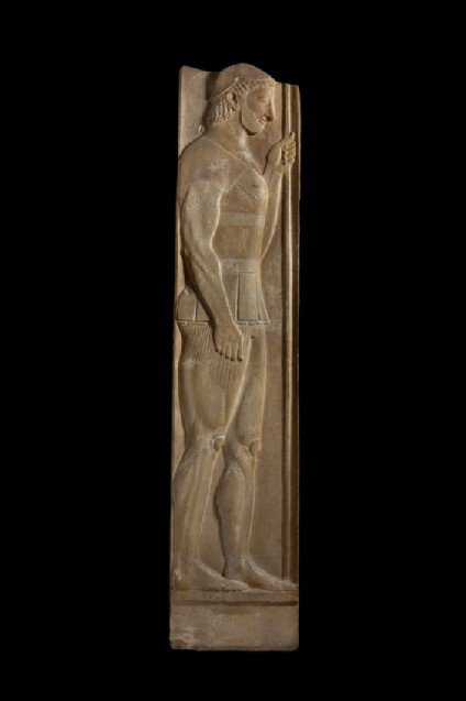 Cast of the stele of Aristion, from Attica