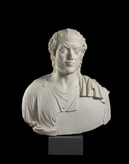 Cast of the bust of a sophist, from Aphrodisias