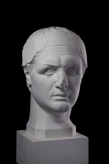 Cast of a portrait head of Attalos I as a dynast, from Pergamon