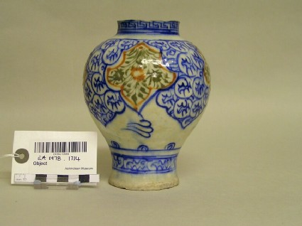 Vase with sylised sprays