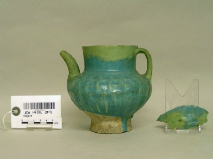 Jug with ridged pattern