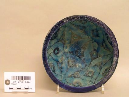 Bowl with leafy latticework
