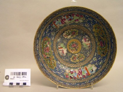 Canton export porcelain bowl