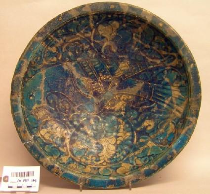 Dish with bird