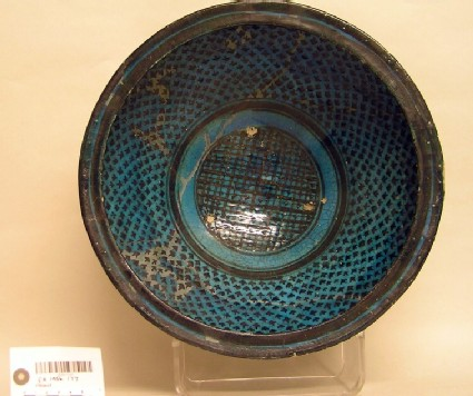 Bowl with cross-hatched and dotted decoration