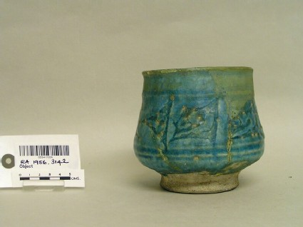 Beaker with frieze of triangles