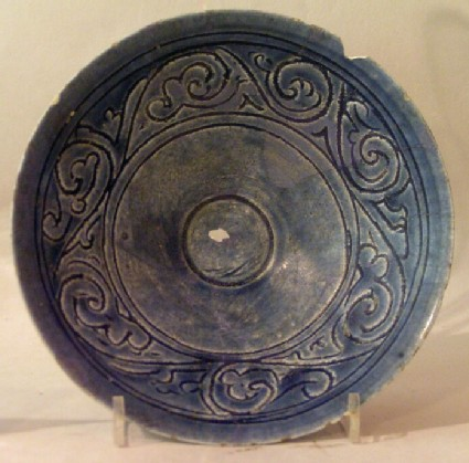 Bowl with stylised vegetal frieze