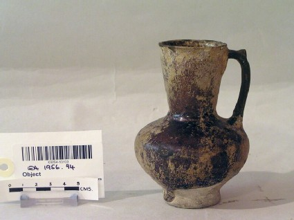 Jug with purple glaze