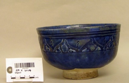 Bowl with abstract motifs