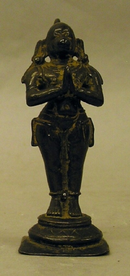 Figure of standing Hanuman