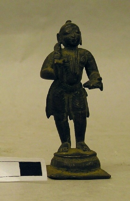 Figure of standing Tamil saint