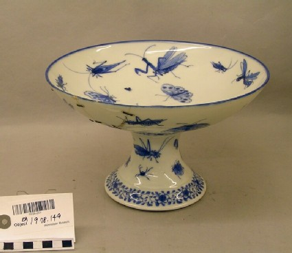 Tazza with insects