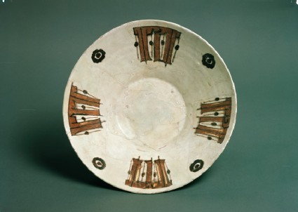 Bowl with pseudo-kufic inscription