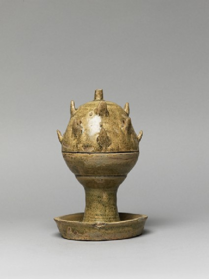 Greenware boshanlu, or hill censer